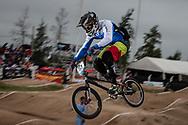 #133 (CRISTOFOLI Roberto) ITA at the 2014 UCI BMX Supercross World Cup in Santiago Del Estero, Argentina.