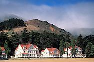 Fort Baker, Golden Gate National Recreation Area, Marin County, California Victorian era Officer houses at Fort Baker Military Reservation, Golden Gate N.R.A., Marin County, California