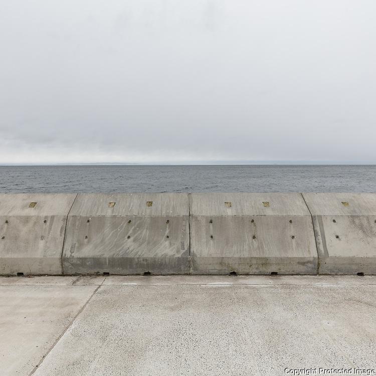 Breakwater, Saltcoats, Ayrshire, Scotland.