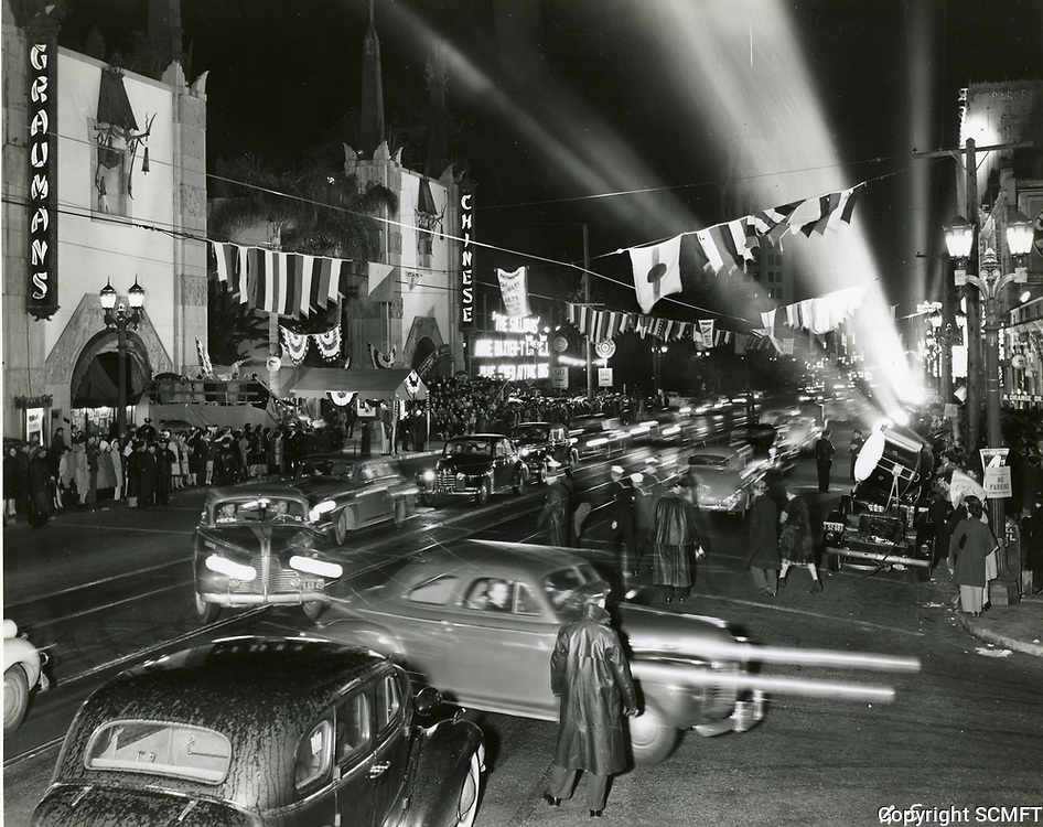 1944 Premiere at Grauman's Chinese Theater