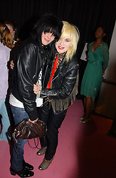 Left to right, SUE WEBSTER and PAM HOGG at a dinner hosted by Harpers Bazaar to celebrate the launch of the fragrance Flowerbomb by Viktor & Rolf held at Elms lester, Flitcroft Street, London WC2 on 31st May 2006.<br /><br />NON EXCLUSIVE - WORLD RIGHTS