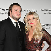 John Bradley and guest Arrivers at The Global Gift Gala red carpet - Eva Longoria hosts annual fundraiser in aid of Rays Of Sunshine, Eva Longoria Foundation and Global Gift Foundation on 2 November 2018 at The Rosewood Hotel, London, UK. Credit: Picture Capital