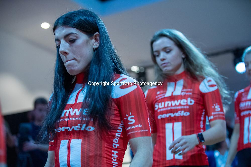 10-12-2019: Wielrennen: Teampresentatie Sunweb: Amsterdam: Anna Henderson