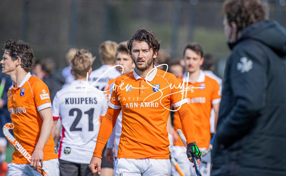 BLOEMENDAAL - Arthur van Doren (Bldaal) na de hoofdklasse hockeywedstrijd heren , Bloemendaal-Oranje Rood  (3-1).  COPYRIGHT  KOEN SUYK