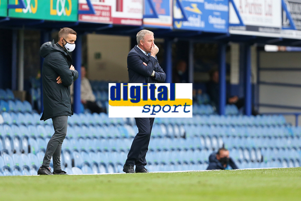 Football - 2020 / 2021 Sky Bet League One - Portsmouth vs. MK Dons<br /> <br /> Portsmouth Manager Kenny Jackett during the League One fixture at Fratton Park <br /> <br /> COLORSPORT/SHAUN BOGGUST