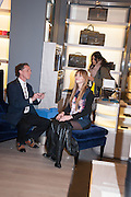LAURA HAYDEN, Smythson Sloane St. Store opening. London. 6 February 2012.