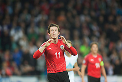 GREGORITSCH Michael of Austria during the 2020 UEFA European Championships group G qualifying match between Slovenia and Austria at SRC Stozice on October 13, 2019 in Ljubljana, Slovenia. Photo by Peter Podobnik / Sportida