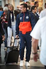 RSC Anderlecht Team At  Munich airport - 13 Sept 2017