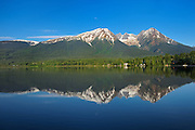 Kathlyn Lake reflection<br /> SMithers<br /> British Columbia<br /> Canada