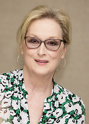 January 23, 2018 - FILE - 90th Academy Oscar Awards Nominations - LEAD ACTRESS Meryl Streep, The Post  PICTURED: Jan 16 2017 - Hollywood, California, U.S. - Meryl Streep stars in Florence Foster Jenkins a singer and supporter of Opera. (Credit Image: © Armando Gallo via ZUMA Studio) (Credit Image: © Armando Gallo/ZUMA Studio/ZUMAPRESS.com)