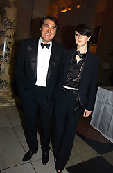 BRYAN FERRY and KATIE TURNER at the British Fashion Awards 2006 sponsored by Swarovski held at the V&A Museum, Cromwell Road, London SW7 on 2nd November 2006.<br /><br />NON EXCLUSIVE - WORLD RIGHTS