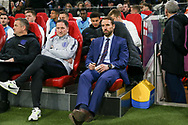England Manager Gareth Southgate during the Friendly match between Netherlands and England at the Amsterdam Arena, Amsterdam, Netherlands on 23 March 2018. Picture by Phil Duncan.