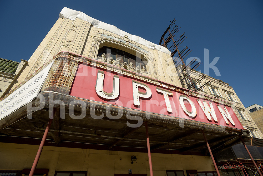 The Uptown Theater in Chicago on Friday, Sept. 4, 2020. Photo by Mark Black