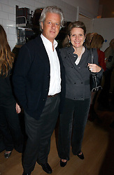LORD & LADY KENILWORTH at the opening party for Tom's Kitchen - the restaurant of Tom Aikens at 27 Cale Street, London SW3 on 1st November 2006.<br />