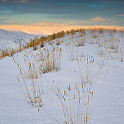 Grasses and hillsides across south eastern Oregon near Baker City.