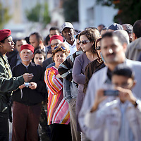 Tunis, Tunisia 23 October 2011<br /> Tunisians wait to vote in a polling station during the Constituent Assembly election.<br /> Photo: Ezequiel Scagnetti © European Union
