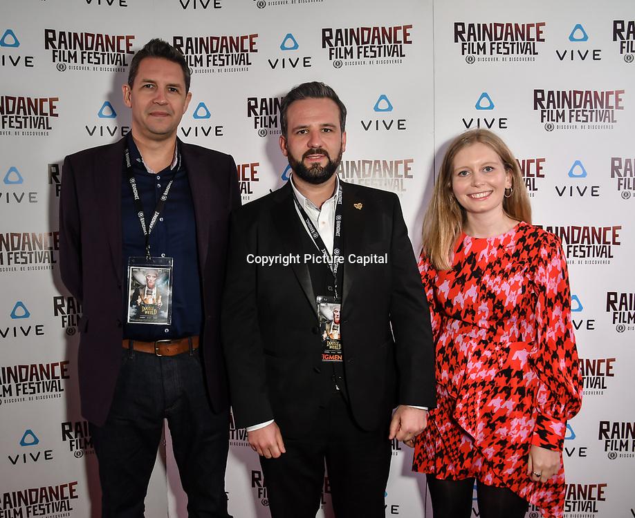 Kinch & the Double World team Nominated attends the Raindance Film Festival - VR Awards, London, UK. 6 October 2018.