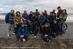 Group photo of all the riders on the SureShot ride around Chiba, Japan. Saturday, December 8, 2018. Photography ©2018 Michael Lichter.