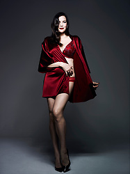"Liv Tyler has stripped down to her bare essentials for a stunning new lingerie photoshoot. The 40-year-old actress and mother-of-three showed off her curves in a plethora of sexy under garments for underwear brand Triumph. Leftovers star Liv donned racy lace bras, stockings and form-fitting body suits that accentuated her incredible figure for the shoot, which was shot by famed fashion photographer Rankin. Liv took part in the shoot after the British brand announced her as the face (and body) of Triumph Essence's Autumn/ Winter 2017 campaign, which celebrates ""female sensuality and body confidence"" Speaking at the launch in Shanghai, China, Liv said: ""I am so honoured to be working with Triumph, a brand I have known and admired for so many years. It has such history! The Triumph Essence collection is really special and has both a playful, feminine and chic style, which I love. I can't wait to see it launch later this year."". 07 Nov 2017 Pictured: Liv Tyler in a sexy new photoshoot for lingerie brand Triumph after being announced as the face of the Autumn/ Winter 2017 Triumph Essence line. Photo credit: Triumph Essence/ MEGA TheMegaAgency.com +1 888 505 6342"