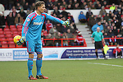 Dorus De Vries during the Sky Bet Championship match between Nottingham Forest and Millwall at the City Ground, Nottingham, England on 31 January 2015. Photo by Jodie Minter.