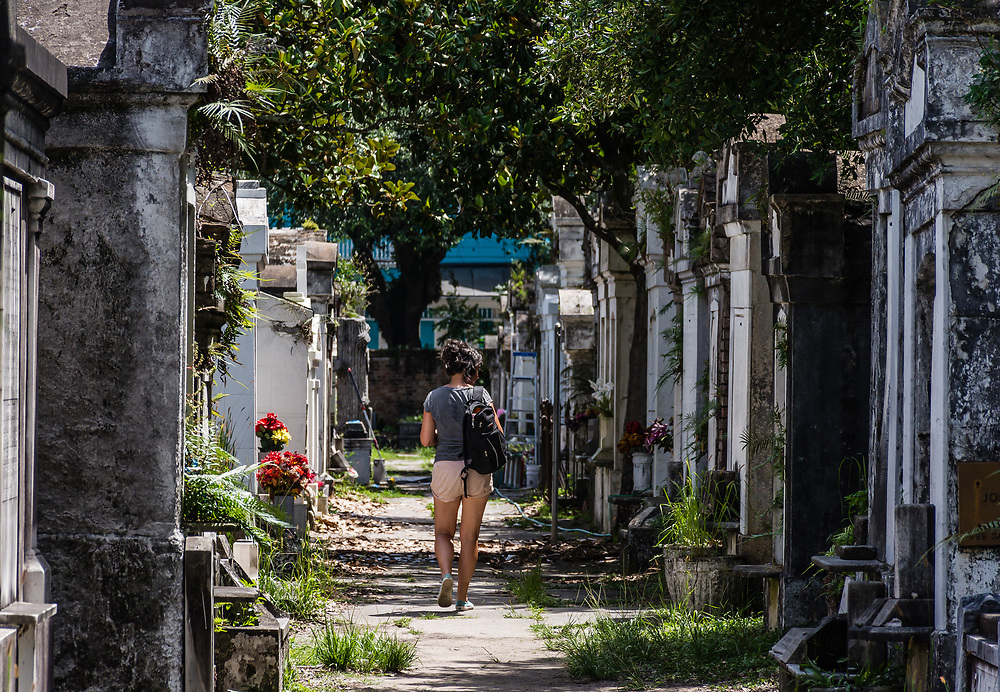 One of the historical Lafayette cemetery