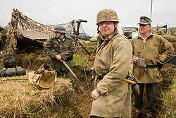 Ackworth Steam Rally<br /> <br /> Day one in the trenches light rain overnight and an overcast but warm day<br /> <br />  15/16 July 2017 <br />   Copyright Paul David Drabble<br />   www.pauldaviddrabble.co.uk