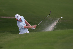 May 25, 2019 - Fort Worth, TX, U.S. - FORT WORTH, TX - MAY 25: Daniel Berger hits from the bunker on the 5th hole during the third round of the Charles Schwab Challenge on May 25, 2019 at Colonial Country Club in Fort Worth, TX. (Photo by George Walker/Icon Sportswire) (Credit Image: © George Walker/Icon SMI via ZUMA Press)