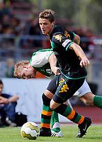 Fotball<br /> Bundesliga Tyskland<br /> 12.07.2008<br /> Foto: Witters/Digitalsport<br /> NORWAY ONLY<br /> <br /> v.l. Malte Mueller, Said Husejinovic Bremen<br /> Fussball Testspiel VfL Oldenburg - SV Werder Bremen