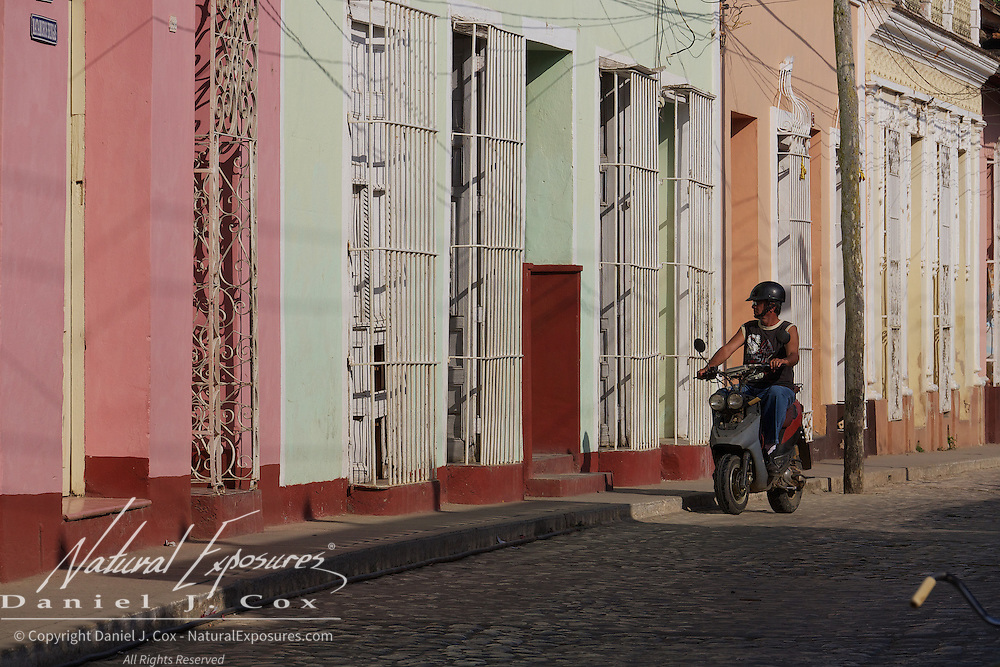 The streets of Ceinfuegos, Cuba.