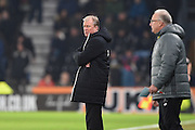 Derby County manager Steve McClaren during the EFL Sky Bet Championship match between Derby County and Cardiff City at the Pride Park, Derby, England on 14 February 2017. Photo by Jon Hobley.
