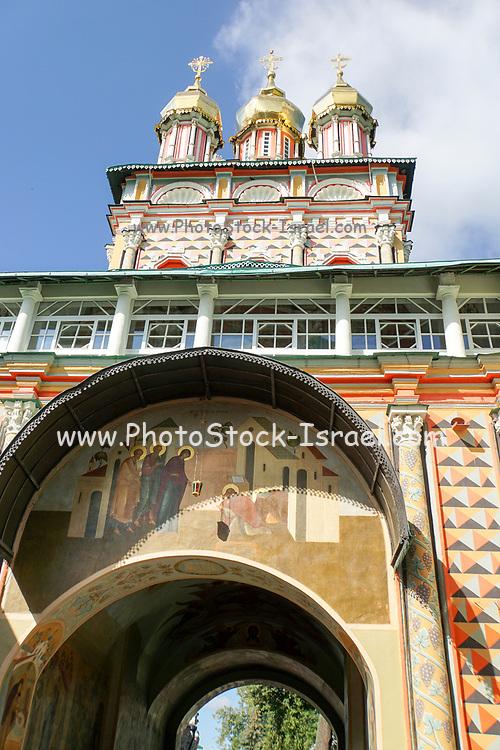 Novospassky Monastery (New monastery of the Saviour), Moscow, Russia