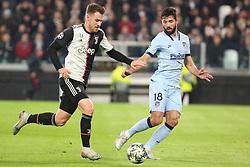Torino 20191126 : 8 Ramsey - 18 Felipe UEFA Champions league Group match between Juventus and Atletico Madrid. Torino, Italy, 26.11.2019. Photo Primoz Lovric / Sportida