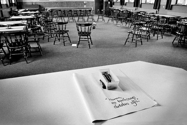 Nederland, 1984Serie mbt geestelijk leven in Nederland. Reportage in klooster Norbertijnen in Heeswijk Dinter .Foto: Flip Franssen