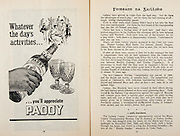 All Ireland Senior Hurling Championship Final,.Programme,.04.09.1955, 09.04.1955, 4th September 1955,.Galway 2-8, Wexford 3-13,.Minor Galway v Tipperary, .Senior Galway v Wexford,.Croke Park,..Advertisements, Paddy Old Irish Whiskey,..Articles, Foireann Na Gaillime,