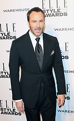 © Licensed to London News Pictures. 18/02/2014, UK. Tom Ford,  ELLE Style Awards, One Embankment, London UK, 18 February 2014. Photo credit : Richard Goldschmidt/Piqtured/LNP