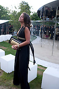 PILAR BOXFORD, 2009 Serpentine Gallery Summer party. Sponsored by Canvas TV. Serpentine Gallery Pavilion designed by Kazuyo Sejima and Ryue Nishizawa of SANAA. Kensington Gdns. London. 9 July 2009.