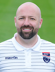 Ross County Sports Scientist Ross Hughes.