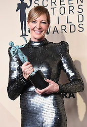 January 21, 2018 Los Angeles, CA This Is Us cast 24th Annual Screen Actors Guild Awards held at the Shrine Exposition Center. 21 Jan 2018 Pictured: Allison Janney. Photo credit: OConnor-Arroyo / AFF-USA.com / MEGA TheMegaAgency.com +1 888 505 6342