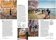 Washington DC article in National Geographic Traveler magazine by Jeff Mauritzen
