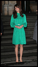 NOV 27 2012 Duchess of Cambridge at Natural History Museum in London