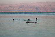 En Boqeq,Tourist in the Dead Sea
