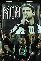 Striscione per Claudio Marchisio. Banner <br /> Torino 28-04-2015 Juventus Stadium, Football Calcio Campionato Italiano Serie A 2014/2015 Juventus - Fiorentina Foto Andrea Staccioli / Insidefoto