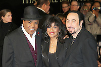 Tito Jackson; Rebbie Jackson; David Gest Michael Jackson 'The Life of an Icon' World Premiere, Empire Cinema, Leicester Square, London, UK, 02 November 2011:  Contact: Rich@Piqtured.com +44(0)7941 079620 (Picture by Richard Goldschmidt)