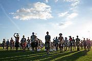 Shadow Drum and Bugle Corps rehearses in Oregon, Wisconsin on August 5, 2016. <br /> <br /> Beth Skogen Photography - www.bethskogen.com