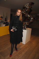 Artist DAISY DE VILLENEUVE at a party to celebrate Westfield London's sponsorship o the British Fashion Council's Fashion Forward Awards held at the Haymarket Hotel, 1 Suffolk Place, London on 17th July 2007.<br /><br />NON EXCLUSIVE - WORLD RIGHTS