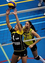 27-10-2012 VOLLEYBAL: SV DYNAMO - PRISMAWORX STRAVOC: APELDOORN<br /> Eerste divisie B vrouwen / Janou Janssen<br /> ©2012-FotoHoogendoorn.nl