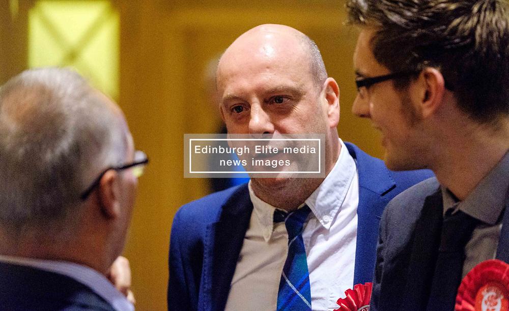 General Election 2017 Dumfries Count :: Douglas Beattie, Labour candidate at the count<br /> <br /> (c) Andrew Wilson | Edinburgh Elite media