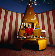 Roy Disney, Vice Chairman, The Walt Disney Company and Chairman Walt Disney Feature Animation at Corporate Headquarters office in the Animation building in Burbank, California.<br /> Roy Disney, Vice Chairman, The Walt Disney Company and Chairman Walt Disney Feature Animation the Imagineering Building in Burbank, California.