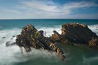 A coast area near Almograve beach. Southwest Alentejo and Vicentine Coast Natural Park, Portugal.