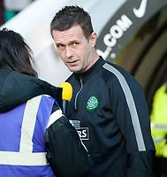 27/12/14 SCOTTISH PREMIERSHIP<br /> CELTIC v ROSS COUNTY<br /> CELTIC PARK - GLASGOW<br /> Celtic manager Ronny Deila